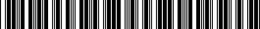 Barcode for 6E5Z13A756AA