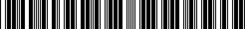 Barcode for 6N7Z13783AA