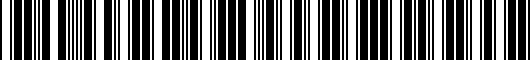 Barcode for 6N7Z13A778AA