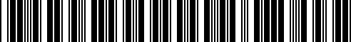 Barcode for N808955S439