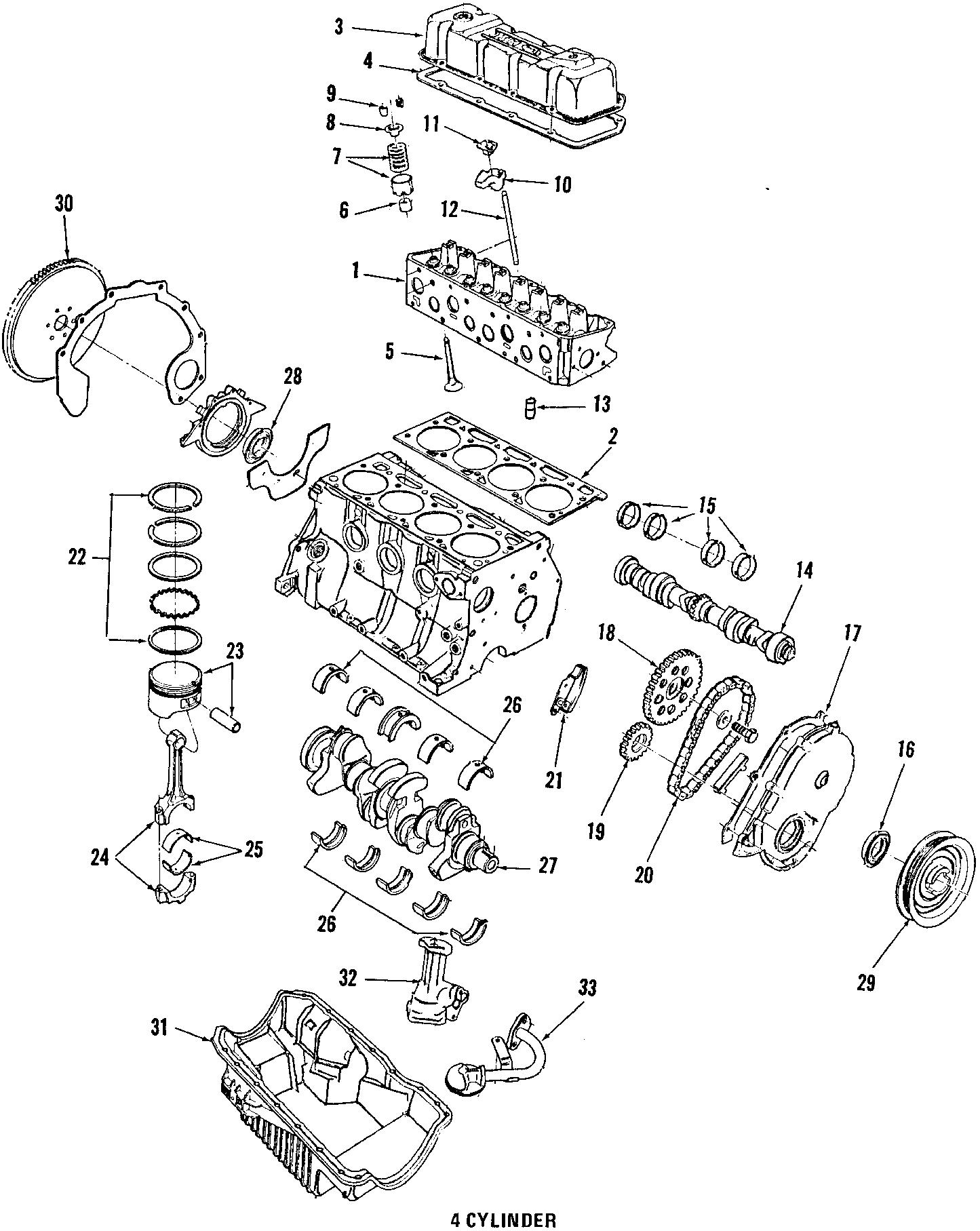 Ford Taurus Bracket  Mount   Rear   2 5 Liter  Sable