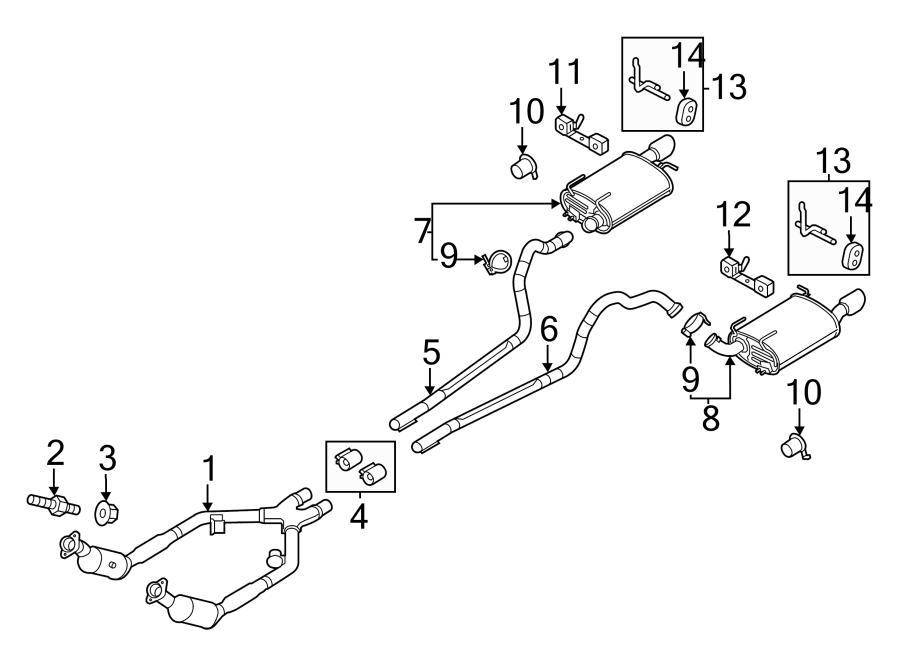 2013 Ford Mustang Catalytic Converter  Catalytic Converter