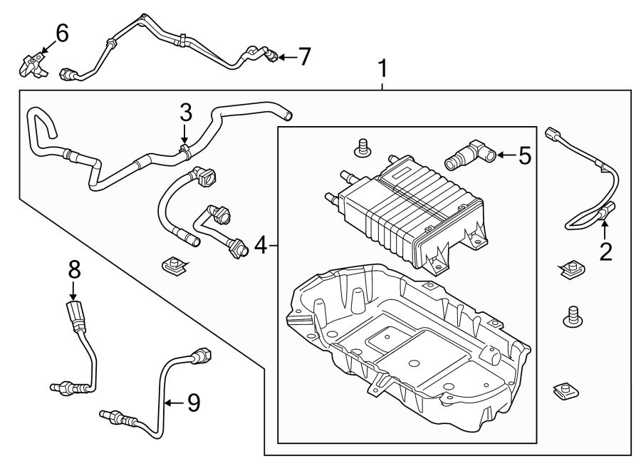 ford mustang lower oxygen snsr  rear  rr  oxygen sensor