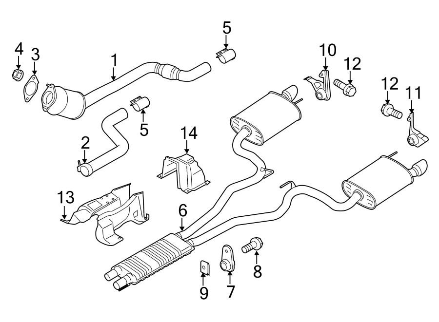 Ford Mustang Parts List