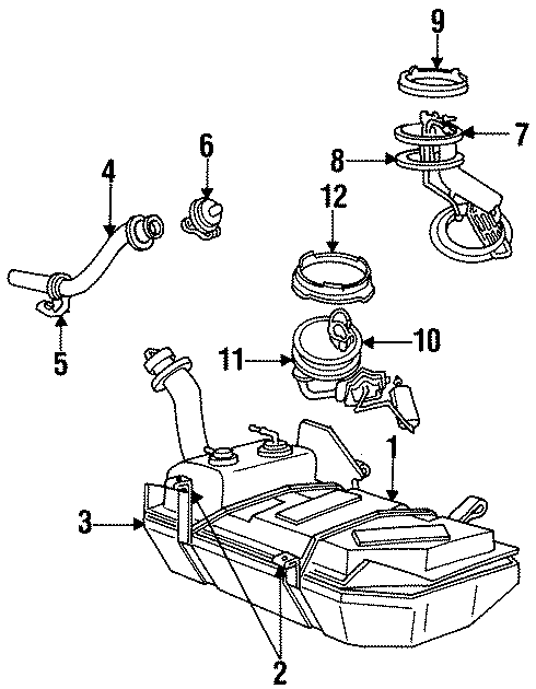 Ford Mustang Fuel Pump Tank Seal