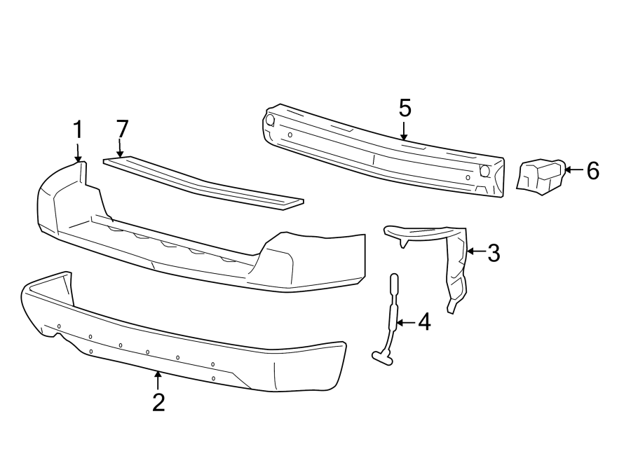 Ford Freestyle Bumper Step Pad  Lower
