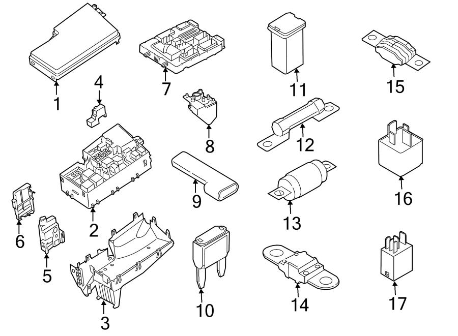cv6z14526a ford fuse circuit breaker amp starter. Black Bedroom Furniture Sets. Home Design Ideas