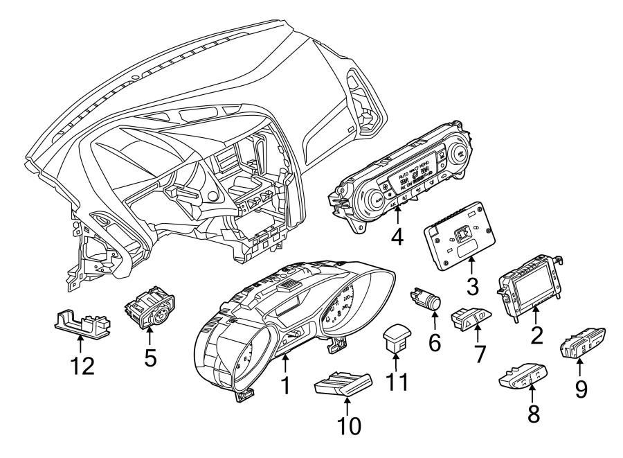 2014 Ford Focus Control Module  Module  Ford  Lincoln