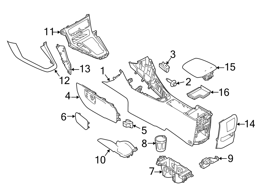 Ford Focus Center Console Wiring Diagram