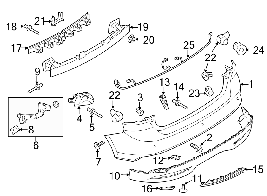 Ford Focus Body Parts Diagram