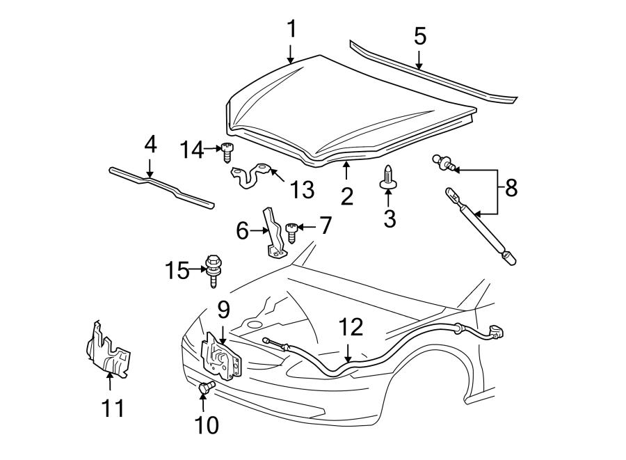 Ford Taurus Hood Insulation Pad  Hood Insulation Pad