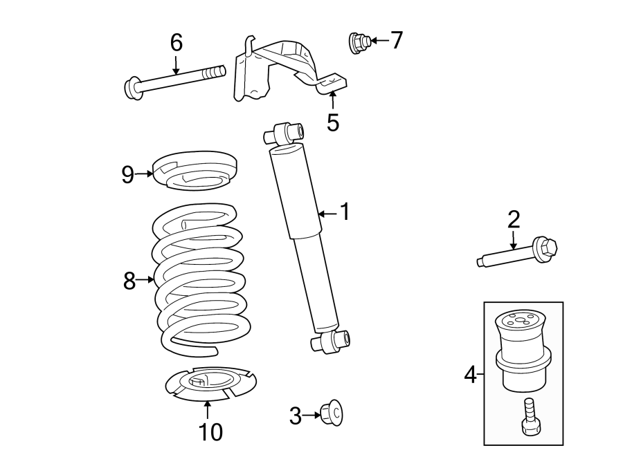 ford fusion bolt  shock  absorber   lower   left  right  suspension