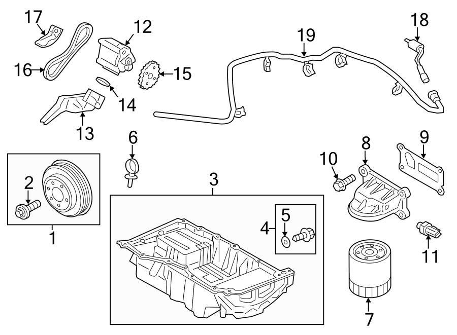 2016 Ford Fusion Engine Intake Manifold Gasket  Liter