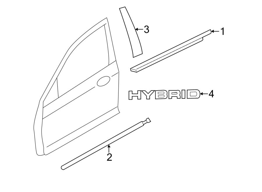 Ford Fusion Emblem  Hybrid