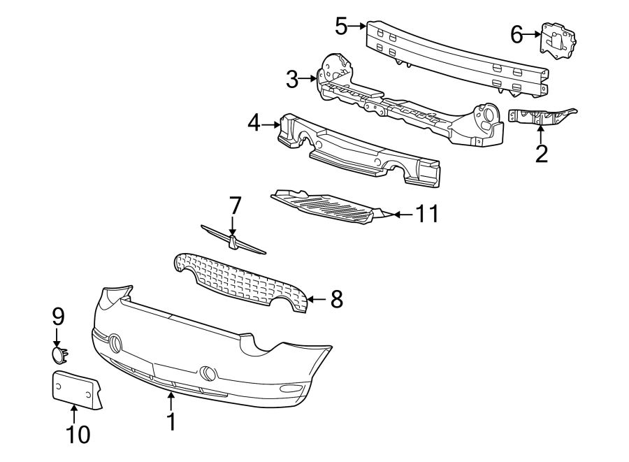 1997 Ford Thunderbird Parts Diagram