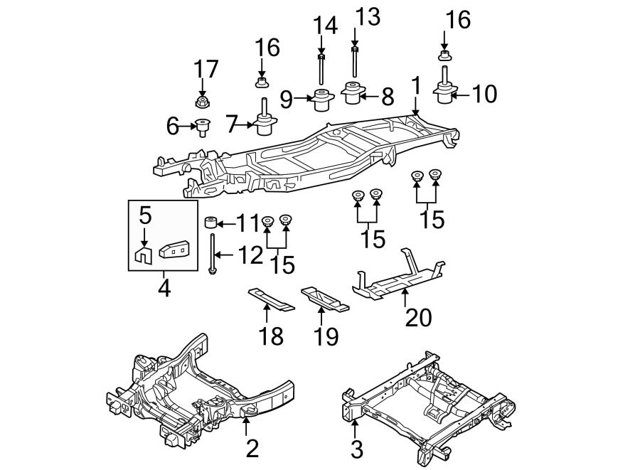 2004 ford f 150 repair kit frame oem front components. Black Bedroom Furniture Sets. Home Design Ideas