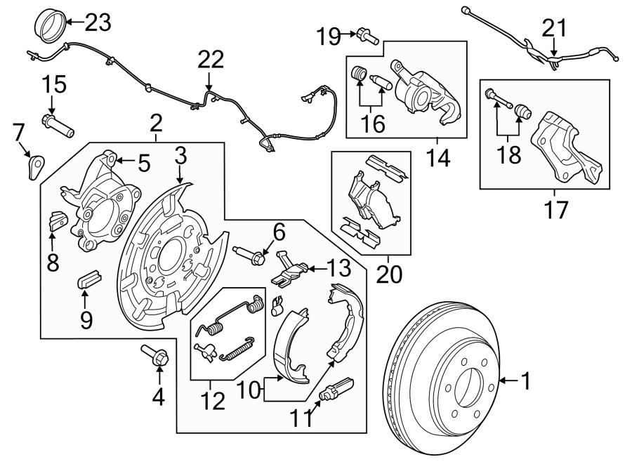 Ford F150 Parking Brake Diagram
