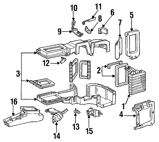1997 Ford F-350 Cable Assembly