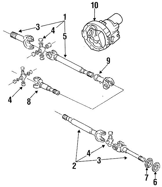 E1tz3b387a - Ford Outer Shaft  Shaft