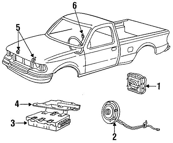 1994 ford f-250 diagnostic module  diagnostic unit  monitor