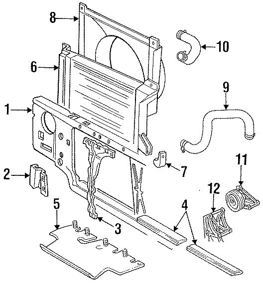 E5tz8146j - Ford Shroud