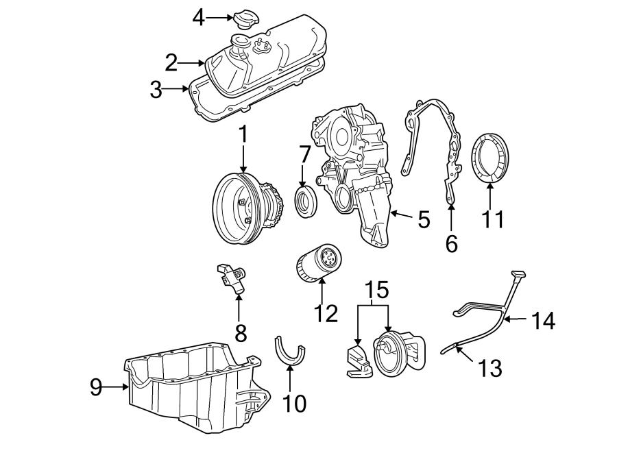 ford thunderbird engine oil pan gasket  3 8 liter  4 2