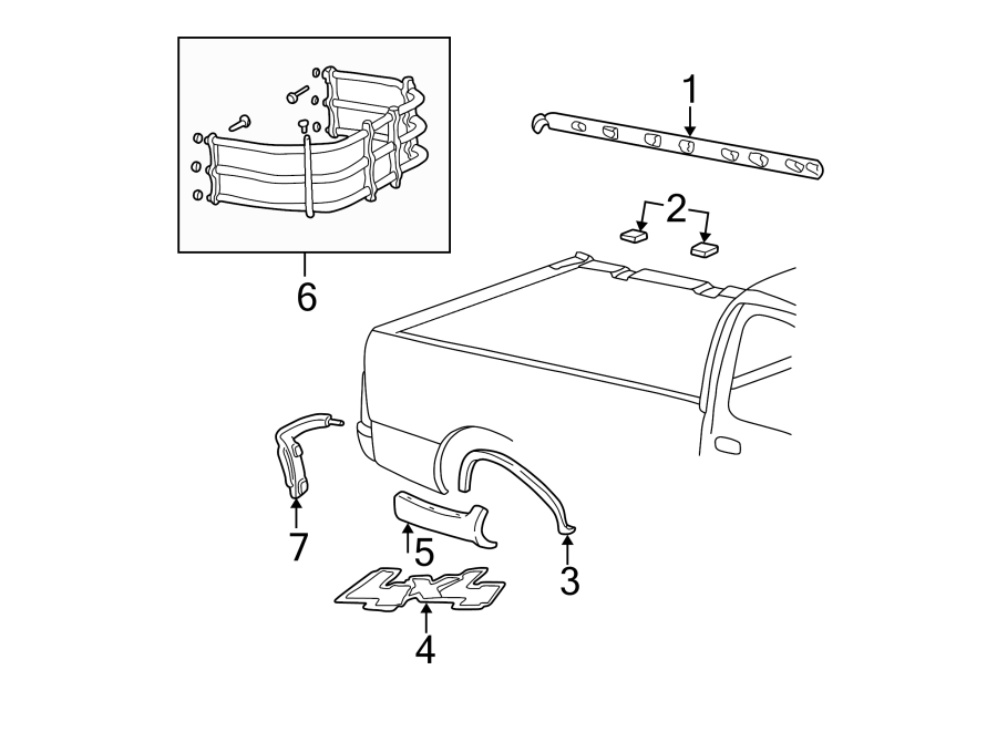 Ford F-150 Molding Plug  Plug - Quarter Panel   Upper   Supercrew  Body Side