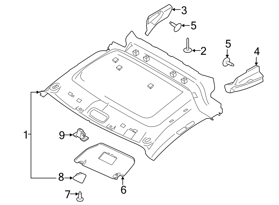 ford transit connect body parts