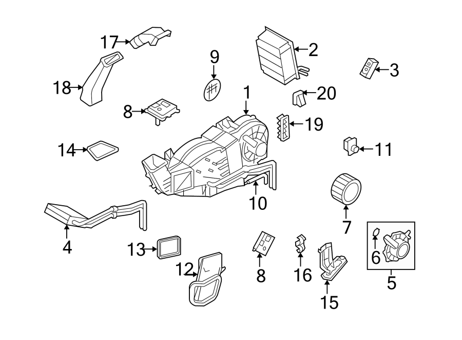 Mc on 2005 Ford Freestyle Parts Manual