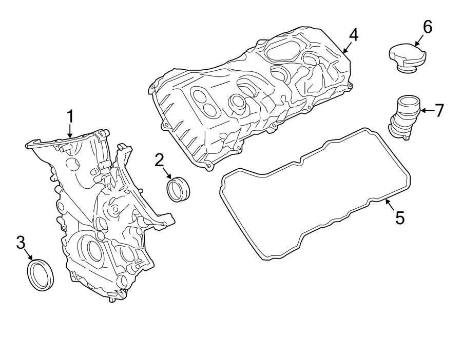 Ford Expedition Engine Valve Cover Gasket