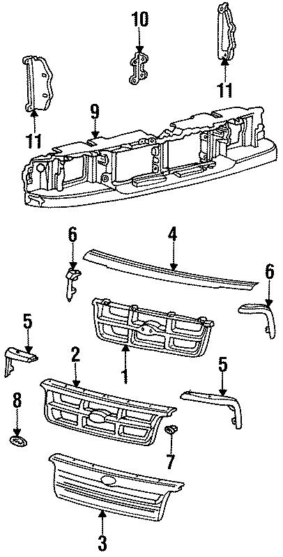 Ford Ranger Grille