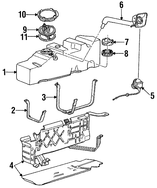 1995 Ford F 350 Fuel System Diagram