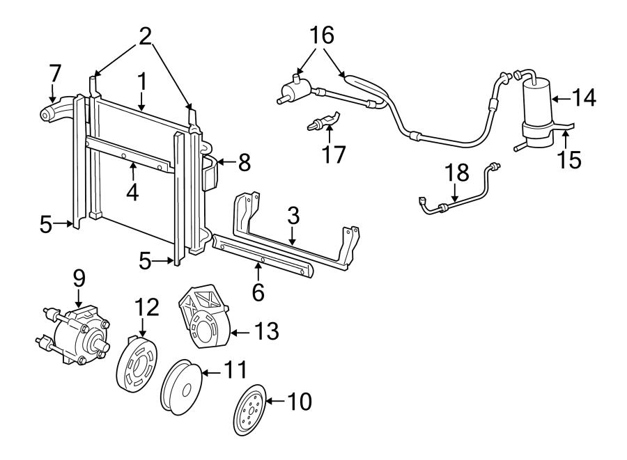 ford ranger bracket  compressor  alternator  mount  air conditioning  a  c   1998