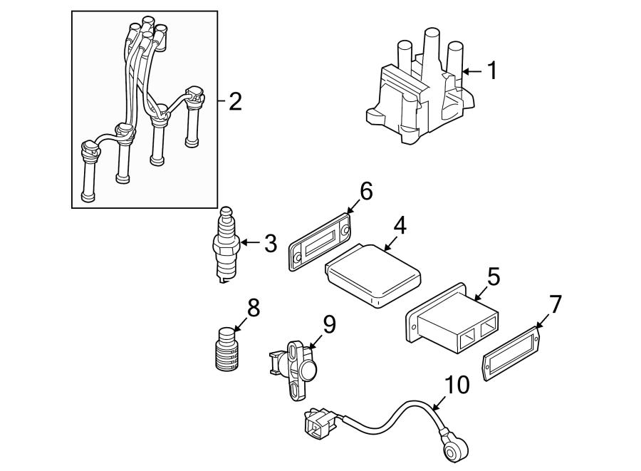 ford ranger coil assembly