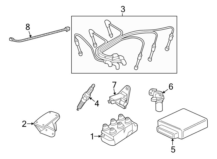 Ford Explorer Spark Plug Wire Set  4 0 Liter  Explorer