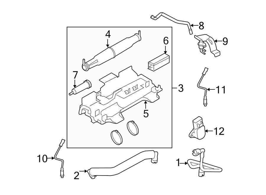 cc3z9d653e ford vapor canister liter emission duty. Black Bedroom Furniture Sets. Home Design Ideas