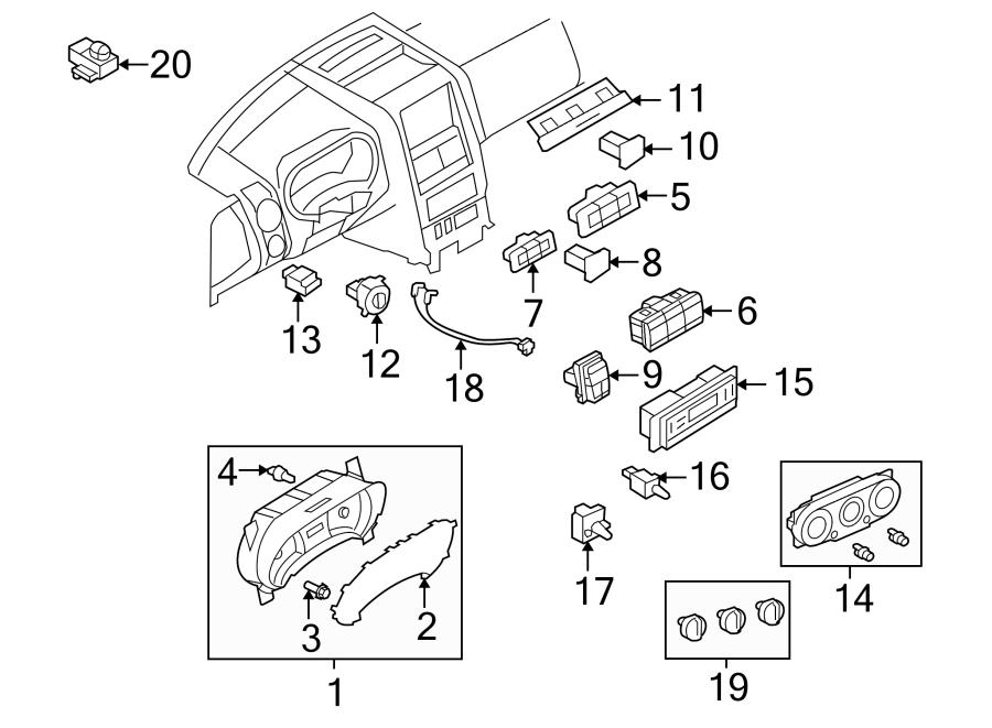 6l2z13466a ford instrument panel light bulb cluster. Black Bedroom Furniture Sets. Home Design Ideas