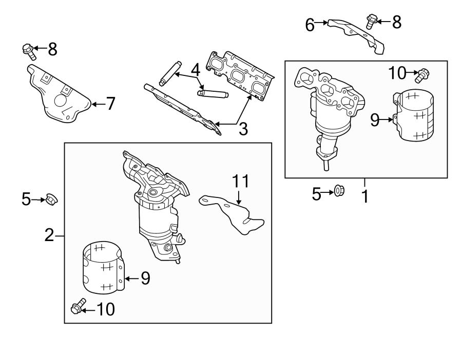 2013 ford explorer bracket support exhaust liter. Black Bedroom Furniture Sets. Home Design Ideas