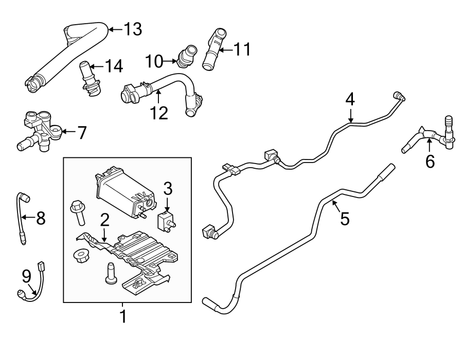 2014 ford explorer oxygen sensor front upper liter. Black Bedroom Furniture Sets. Home Design Ideas