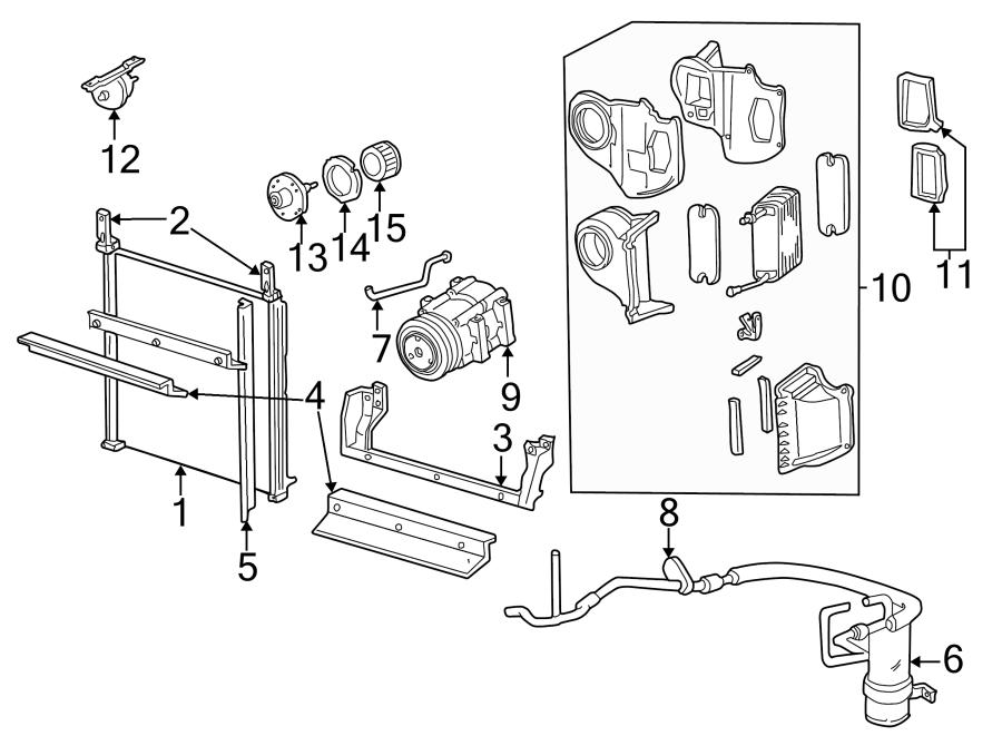ford explorer air conditioning  a  c  evaporator core