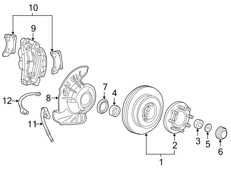1988 ford f-250 bearing grease cap  cap