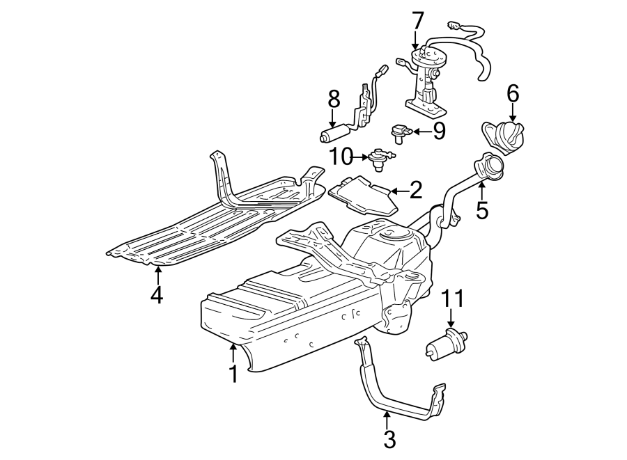 1995 Ford Explorer Fuel System Diagram