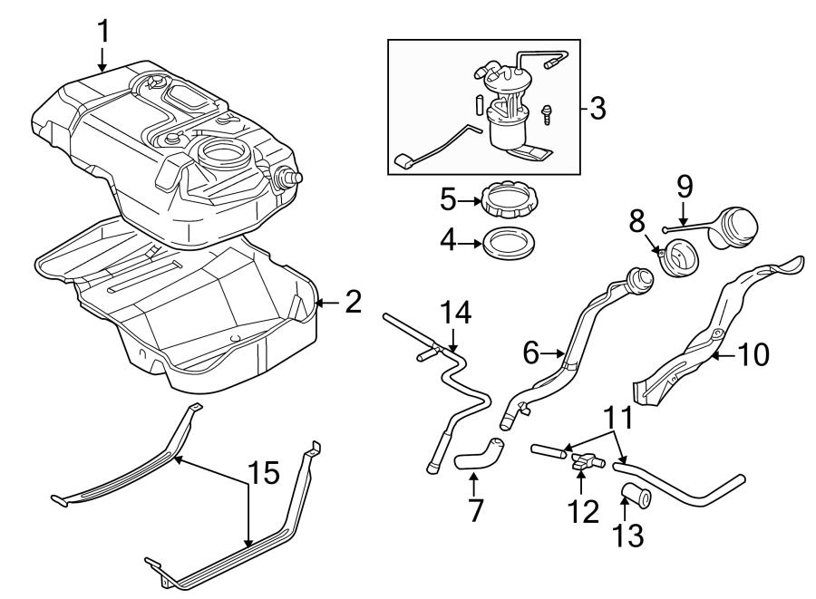 Ford Escape Fuel Tank Shield  Fuel Tank Shield