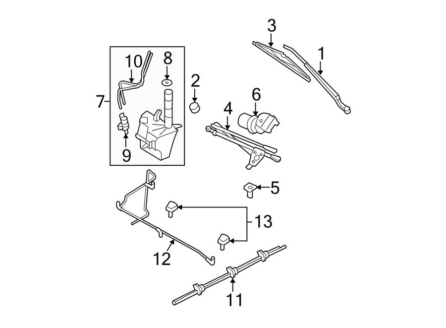 Wiring Diagram  9 2013 Ford Escape Body Parts Diagram