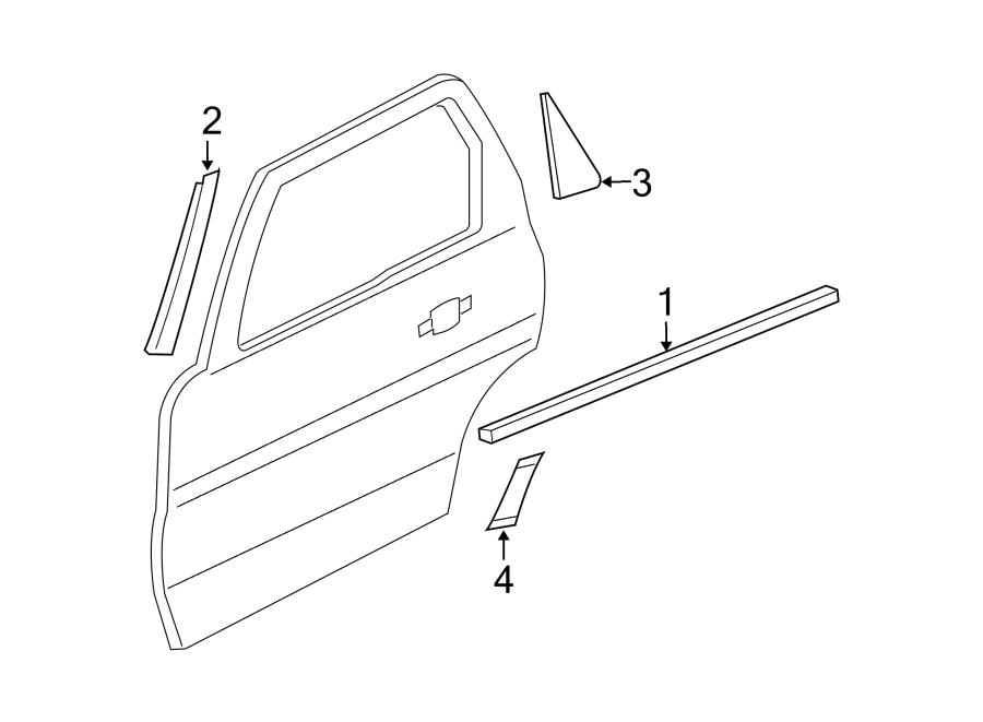 Mk on 2005 Ford Escape Door Parts Diagrams