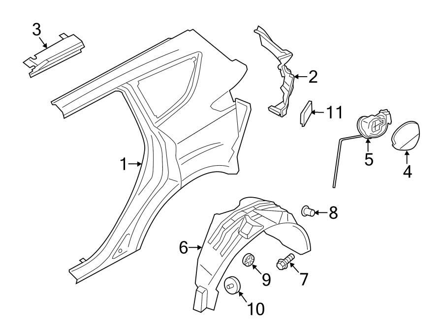 03 Escape Radiator Hose Diagram