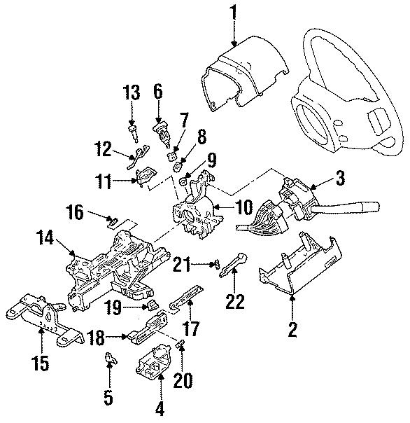Ford Aerostar Combination Switch
