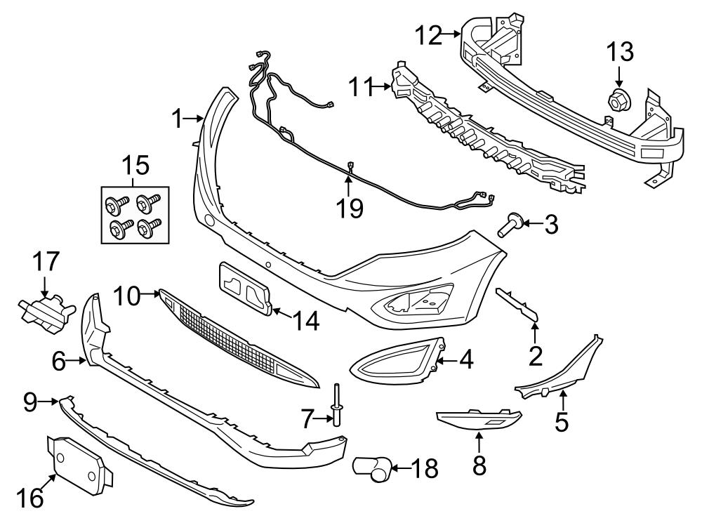 30 Ford Edge Parts Diagram