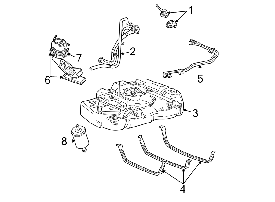 Ford Explorer Sport Trac Fuel Filter