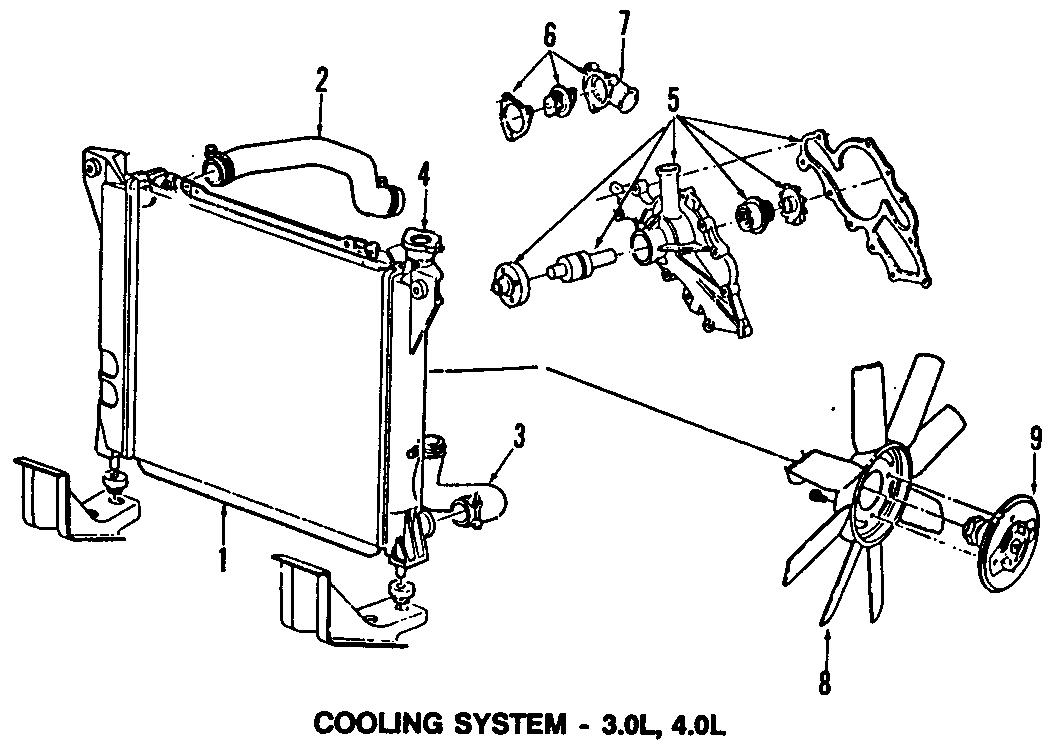 Ford Ranger 2001 3 0 Engine Water Pump Diagram